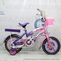 Sepeda Anak Perempuan Pacific Castilla 12 Inci