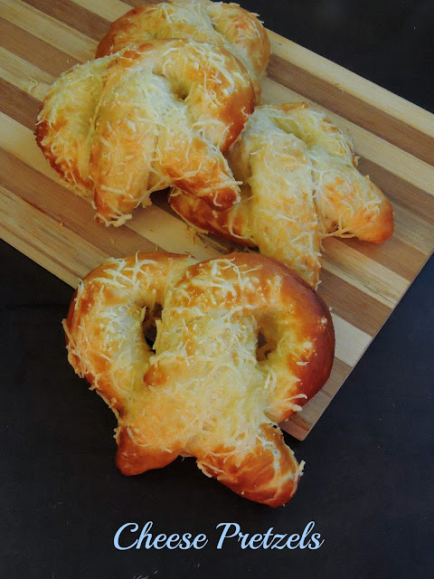 Cheese Pretzels