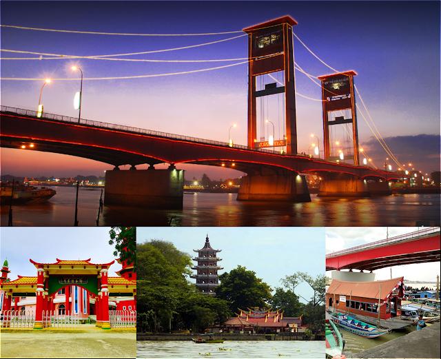 Tempat wisata Ngehits yang ada di Palembang