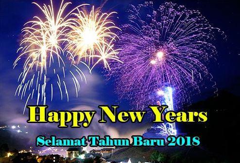 Gambar Ucapan Tahun Baru 2018