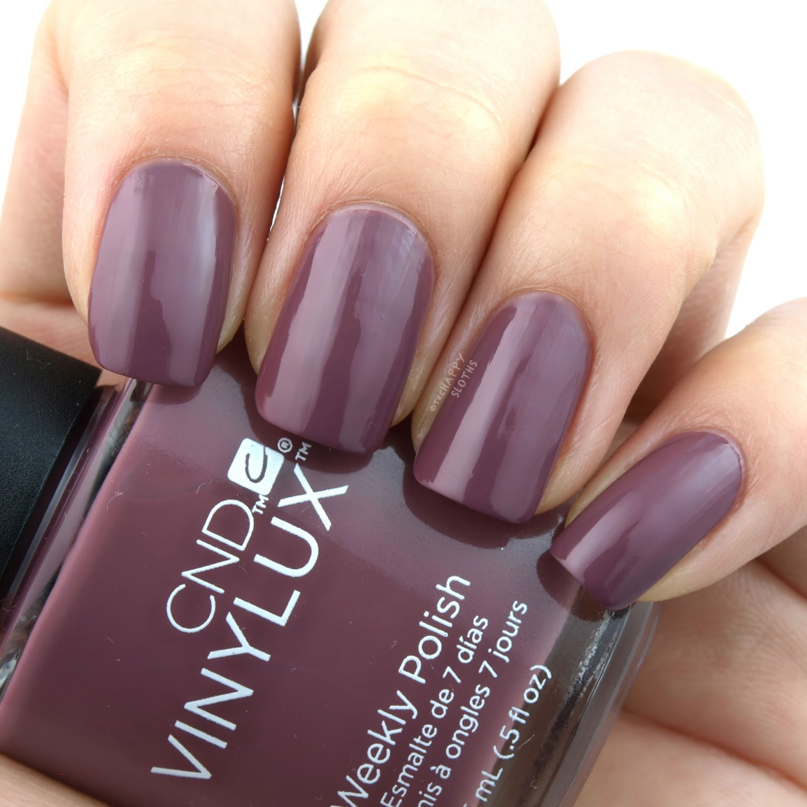 CND Vinylux Intimates Collection | Married to the Mauve: Review and Swatches