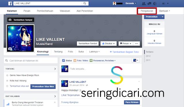 Cara Menghapus Fan Page Facebook