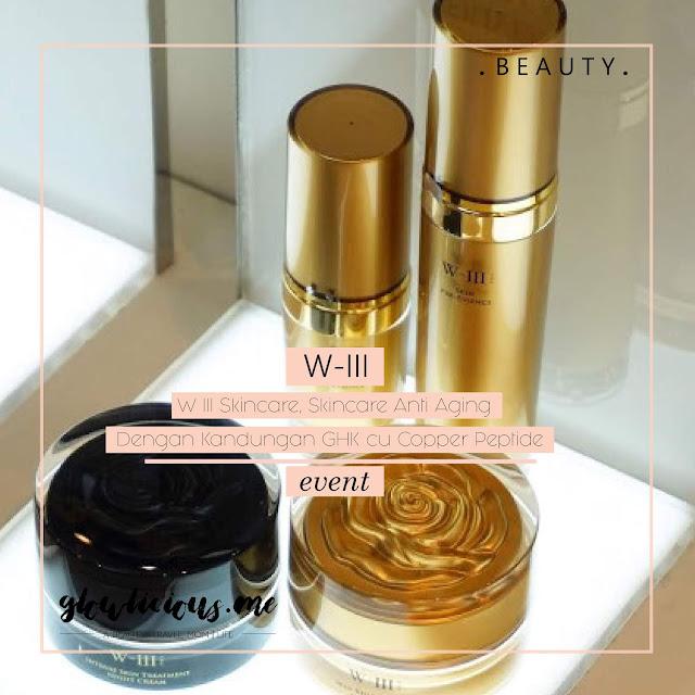 W III Skincare, Skincare Anti Aging Dengan Kandungan GHK cu Copper Peptide