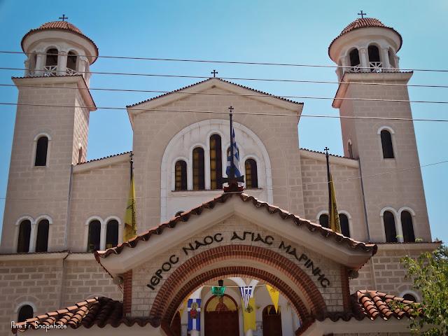 Πανήγυρις Ιερού Ναού Αγίας Μαρίνης Άνω Τούμπας