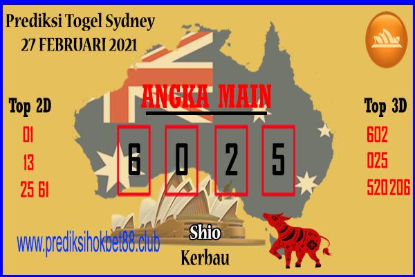 Bocoran Togel SDY 27 Februari  2021