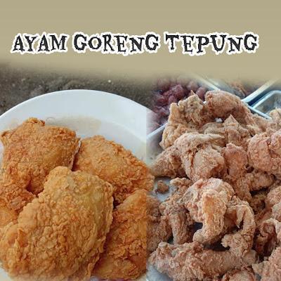 Ayam Goreng Tepung Rangup Dengan Cara Mudah