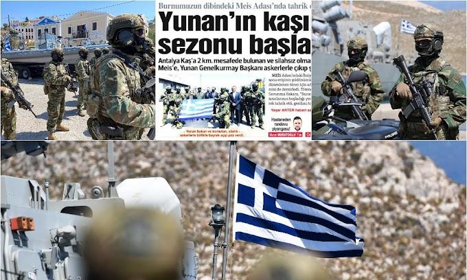 «Κόκκινο πανί» για την Άγκυρα το «φρούριο» Καστελόριζο: Η «ασπίδα» από τα «γεράκια» της ΠΑ και οι επίλεκτοι SOF πάνω στα νησιά μήνυμα στις «ορέξεις» Ερντογάν-Ακάρ