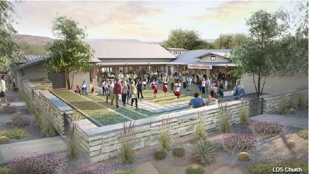 Granite Genealogy: LDS Church Breaks Ground for First-of