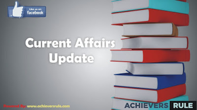 Current Affairs Updates-9th October 2017