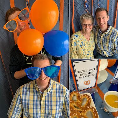 Pretzel Bar Party @michellepaigeblogs.com