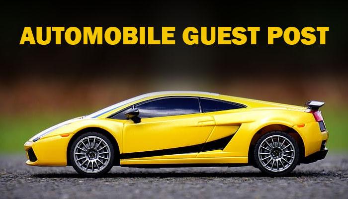 Publish Guest Posts on Automobile Websites