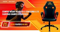 Promoção Méqui Player 2 BGS mequiplayer2.com.br