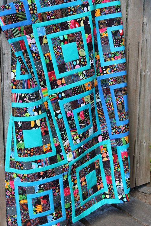 Beautiful Scrap Quilt - Tutorial