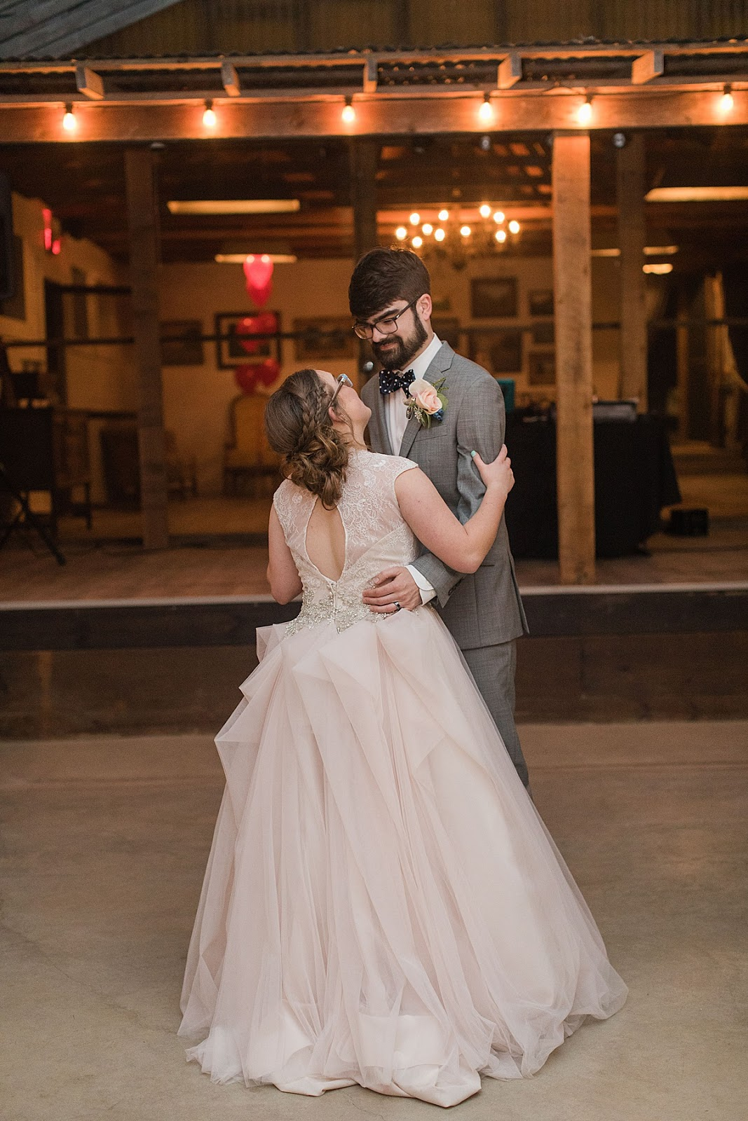 Disney themed Wedding, Gruene Estate Wedding Venue Reception, First dance