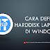 [ Video ] Cara Defrag Hardisk Laptop di Windows 10 serta Pengertian Defrag Hardisk