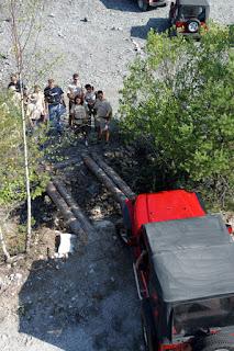 Пастухов Василий Романович через обрыв на автомобиле