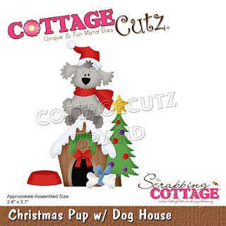 http://www.scrappingcottage.com/cottagecutzchristmaspupwdoghouse.aspx
