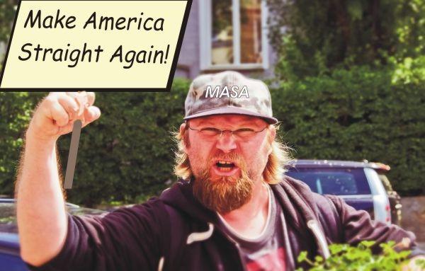 Make America banner