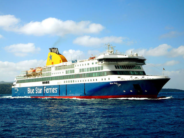 Nuestra Experiencia con Blue Star Ferries Grecia. Opiniones y Consejos