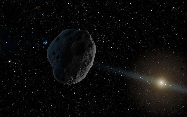asteroide 2016 WF9 - ilustração - NASA