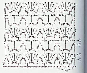 patron crochet - Crochet Imagenes Puntada combinada dos colores a crochet y ganchillo por Majovel crochet