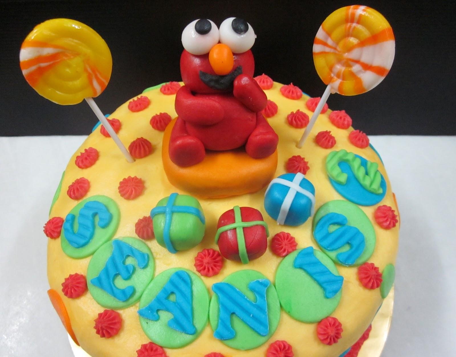 Sweet Treatz Elmo Birthday Cake