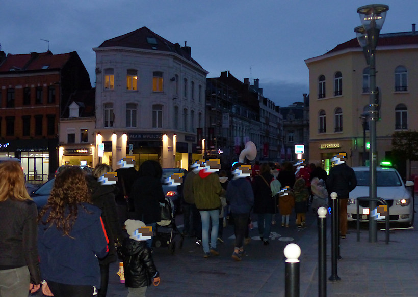 Allumoirs Tourcoing 2019 - Cortège Grand Place
