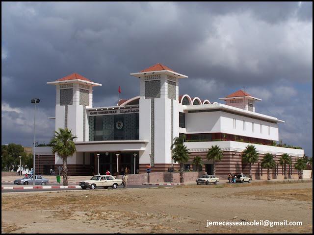 Gare ferroviaire de Tanger