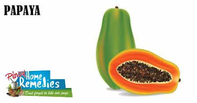 Home Remedies For Brown Spot On Skin: Papaya