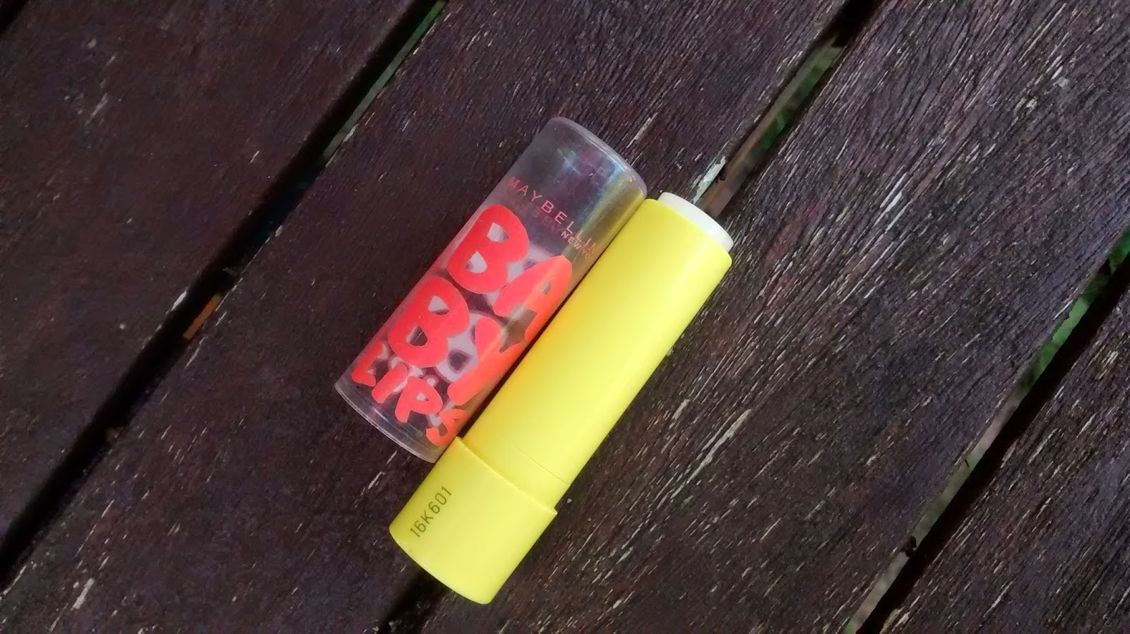 Empty Maybelline Baby Lips