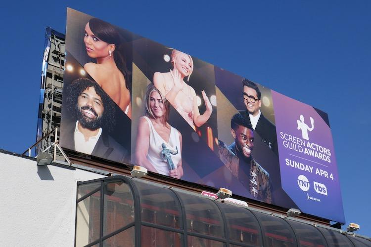 Screen Actors Guild Awards 2021 billboard