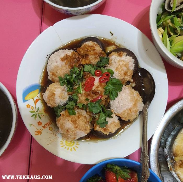 Mushroom Meatball Dish