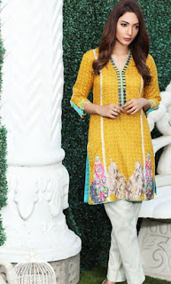 COCO 2 Piece Embroidered Lawn Collection 2016-17