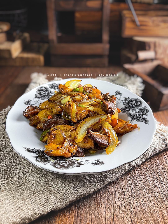 Resipi Ayam Masak Black Pepper Simple