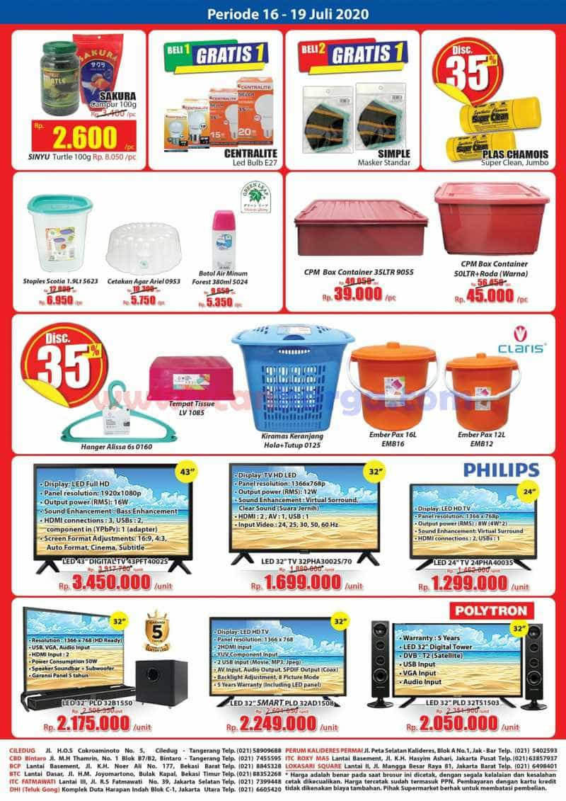 Katalog Promo KJSM Hari Hari Swalayan Weekend 16 - 19 Juli 2020 4