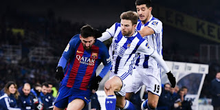 Real Sociedad vs Barcelona Live Streaming online Today 14-1-2018 Spain La Liga