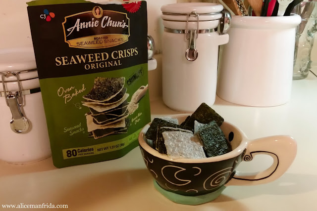 Annie Chun's, seaweed, snacks, salty, healthy, chips, gluten-free