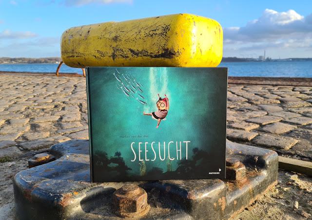 """Meine Seesucht - meine Sehnsucht: Blogparade zu einem einzigartigen maritimen Kinderbuch. Das Buch zum Film """"Jonas and the Sea"""" von Marlies van der Wel für Kinder ab 3 Jahren."""