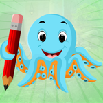 Play Games4King Blue Octopus E…