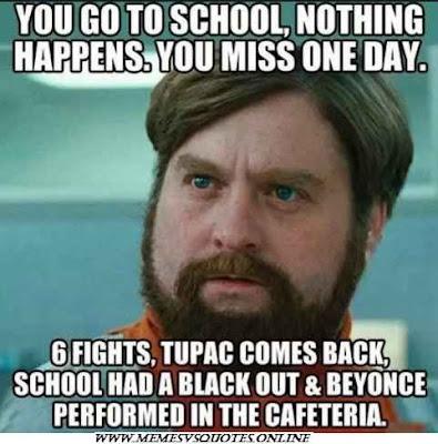 You Go To School