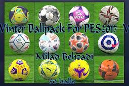 NEW Winter Ballpack Season 2021 V2 (50 Balls) - PES 2017
