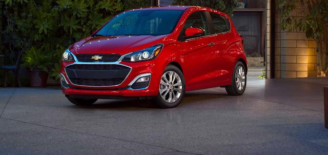Essai du Chevrolet Spark 2020