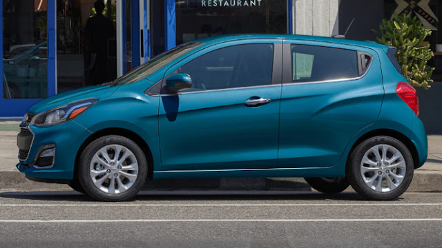 Chevrolet Spark 2020 prix