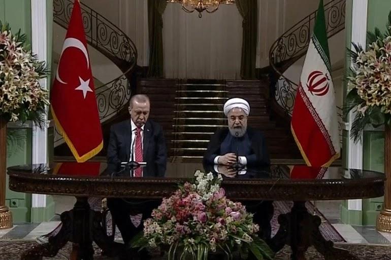 """أردوغان يدعو لـ""""تلقين إسرائيل درسا"""" وروحاني يدين جرائم الاحتلال"""