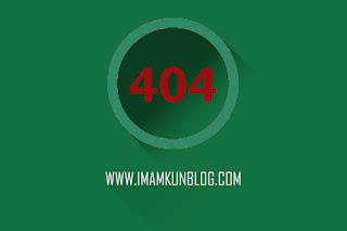 Cara Membuat Halaman 404 Not Found di Blogger