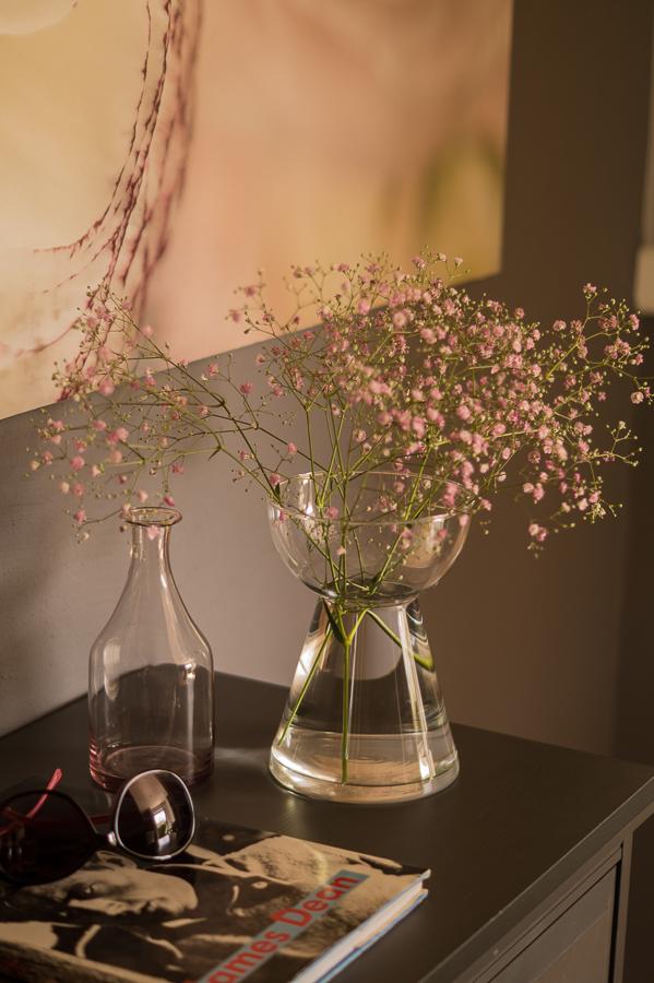 Blog + Fotografie by it's me   fim.works   Flower Friday   Rosa Schleierkraut   Bildband James Dean   Sonnenbrille