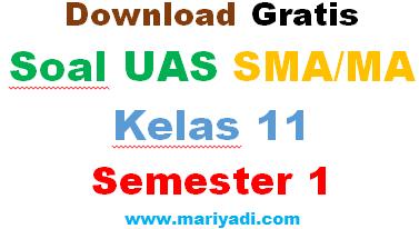 Soal UAS Fisika Kelas 11 SMA Semester 1 (Paket 2)