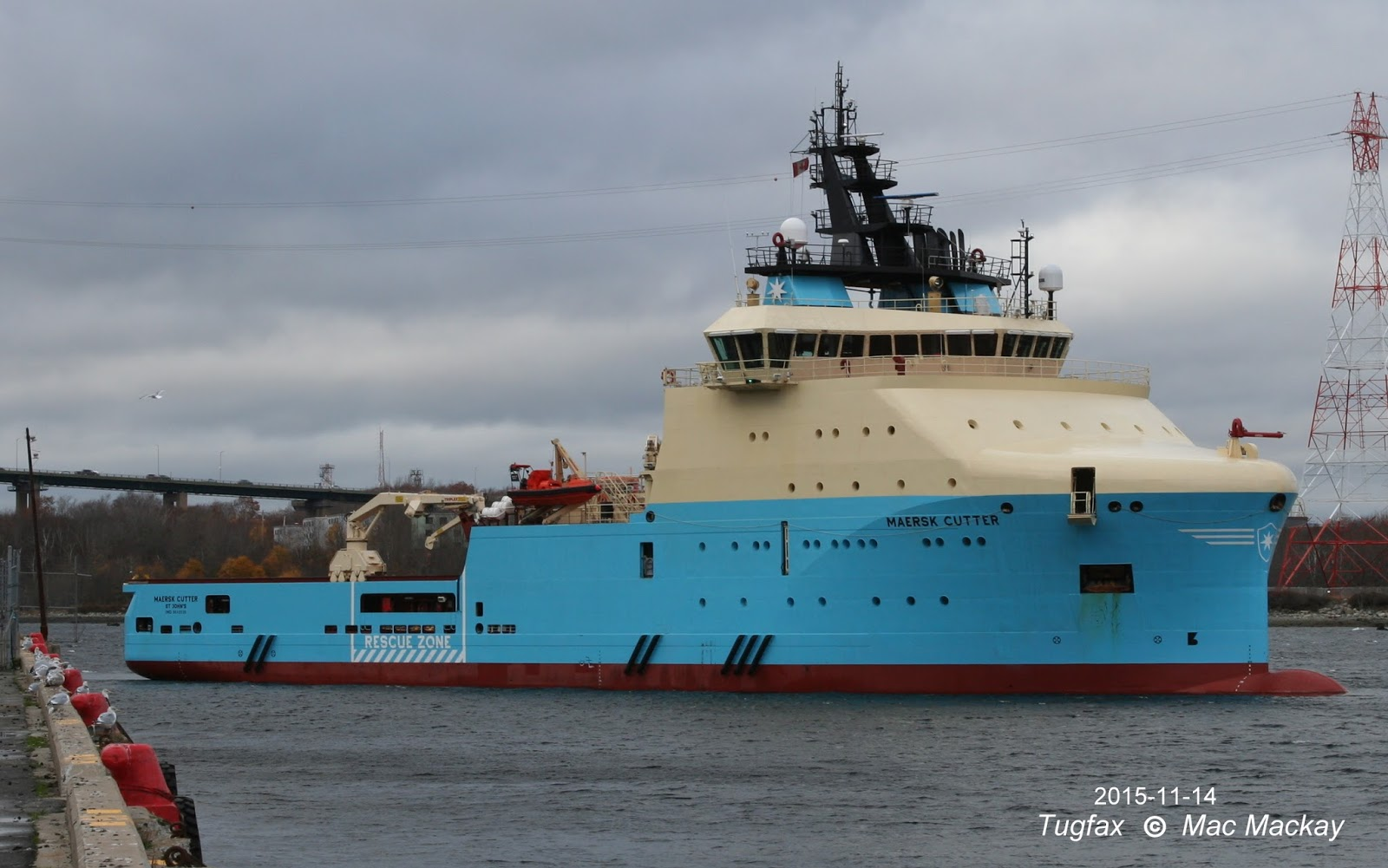 Tugfax: Maersk Cutter - finds work