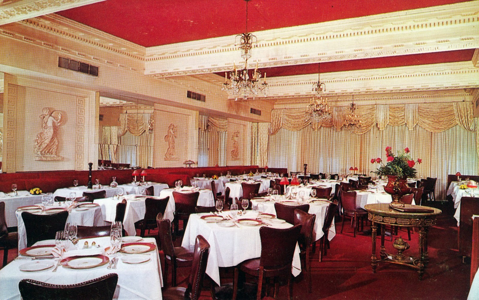 Interior Of The Colony Restaurant Author S Collection