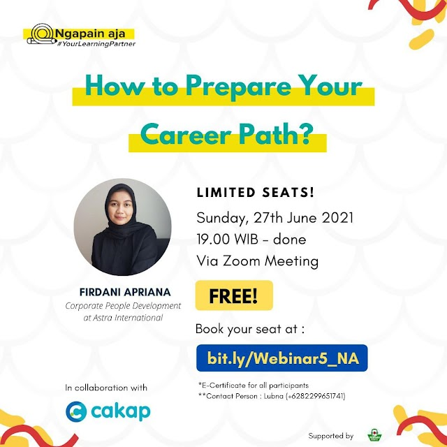 HOW TO PREPARE YOUR CAREER PATH?